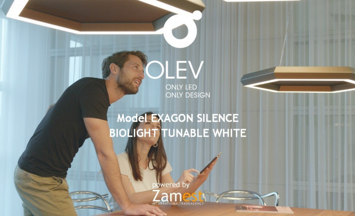 Exagon Silence Biolight Tunable White by Olev