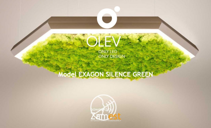 Exagon Silence Green by Olev