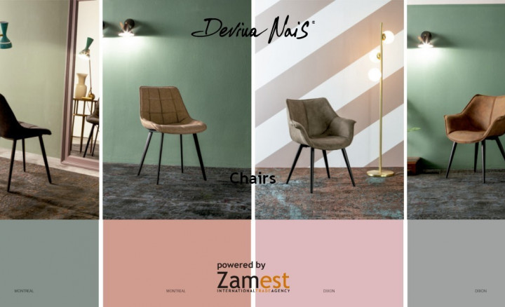 Chairs by Devina Nais