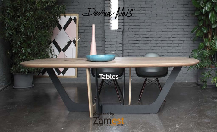 Tables by Devina Nais