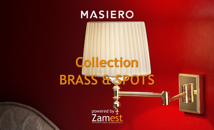 Collection Brass & Spots by Masiero
