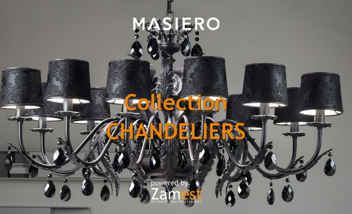 Collection Chandeliers by Masiero