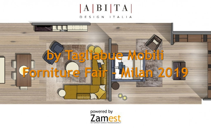 Salone del Mobile - Milan Forniture Fair 2019 - by Tagliabue